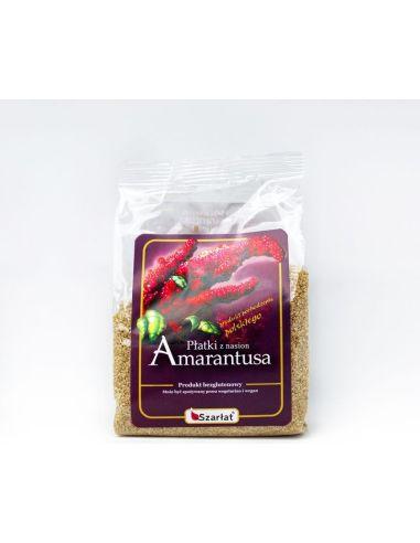 Płatki z nasion amarantusa...