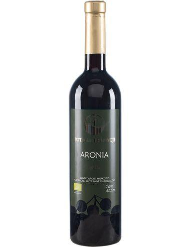 Wino aroniowe czerwone / wytrawne /...