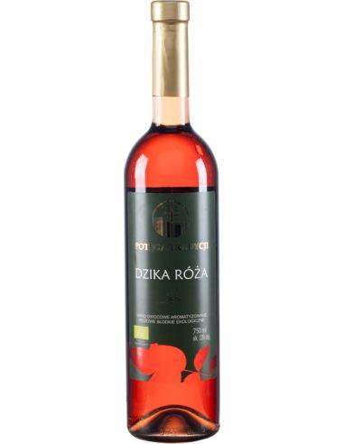 Wino z dzikiej róży / różowe /...