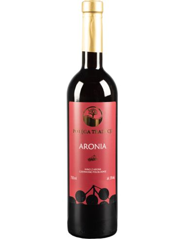 Wino aroniowe czerwone / półsłodkie /...