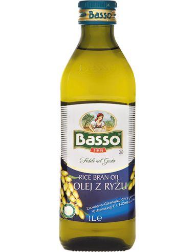 Olej z ryżu (ryżowy) 1l BASSO