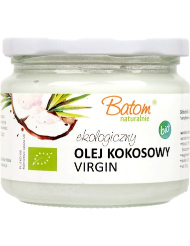 Olej kokosowy Virgin 250ml BATOM BIO