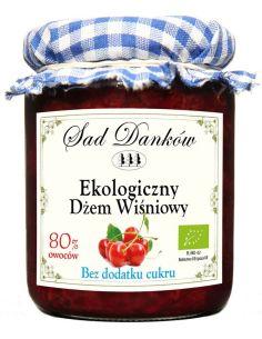 Dżemik wiśniowy bez dodatku cukru 260g*SAD DANKÓW*BIO