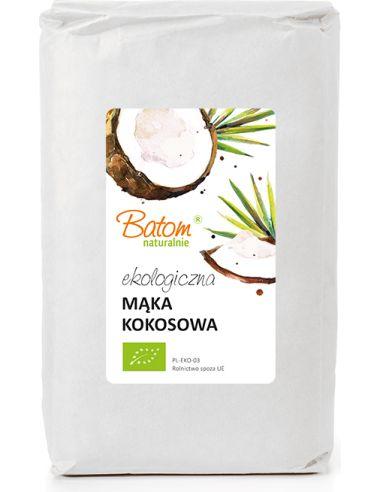 Mąka kokosowa 1kg BATOM BIO