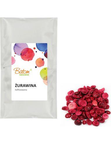 Owoce liofilizowane ŻURAWINA 20g BATOM