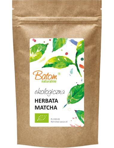 Herbata zielona matcha 100g BATOM BIO