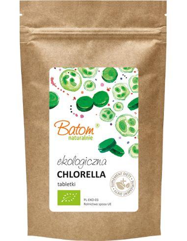 Chlorella 400mg tabletki 250g BATOM BIO