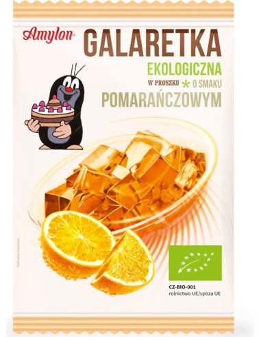 Galaretka pomarańczowa w proszku 40g...
