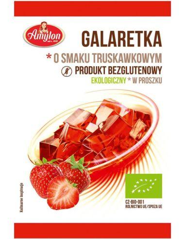 Galaretka w proszku truskawkowa 40g...