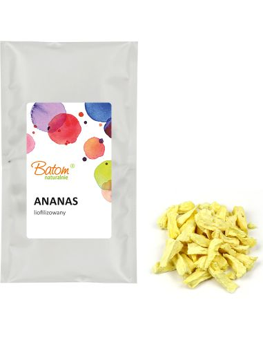 Owoce liofilizowane ANANASY 20g BATOM