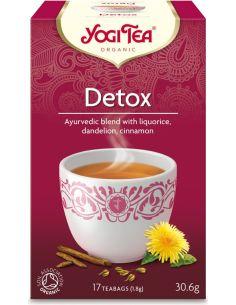Herbata **Detox** oczyszczająca ekspres 17T*YOGI TEA*BIO