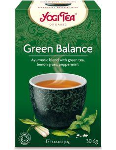 Herbata **Green Balance** zielona ekspres 17T*YOGI TEA*BIO