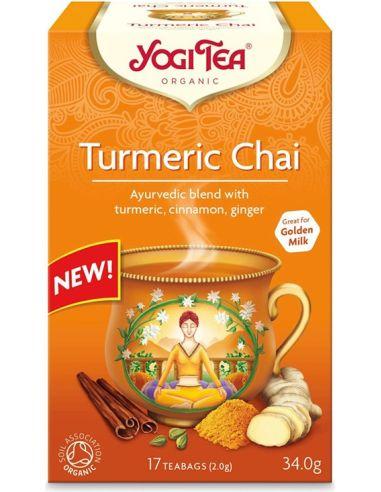Herbata **Turmeric Chai** z kurkumą...