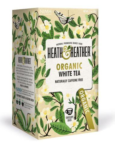Herbata biała ekspres 20T*HEATH HEATHER*BIO