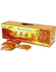 Herbata chińska jaśminowa kostka 125g*PANACEUM*