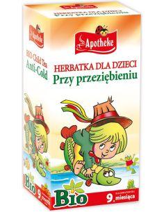 Herbata dla dzieci przy przeziębieniu ekspres 20T*APOTHEKE*BIO