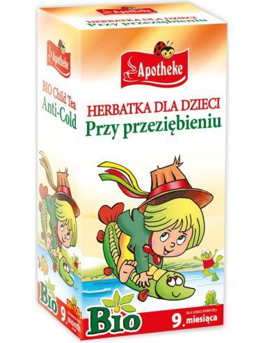 Herbata dla dzieci przy przeziębieniu...