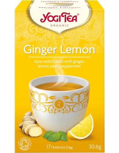 Herbata imbirowa z cytryną ekspres 17T*YOGI TEA*BIO