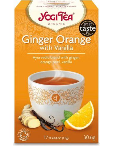 Herbata imbirowa z pomarańczą i...