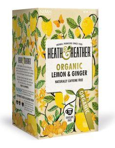 Herbata lemon / imbir ekspres 20T*HEATH HEATHER*BIO