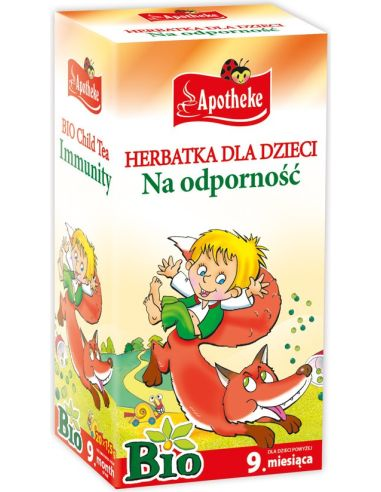 Herbata na odporność dla dzieci...