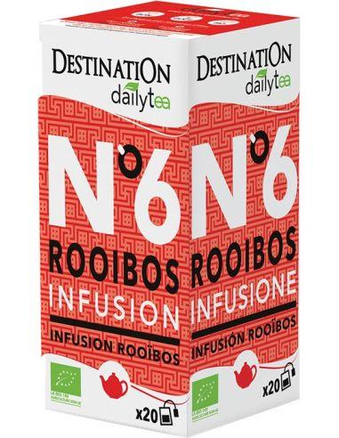 Herbata rooibos ekspres 20T*DESTINATION DAILY TEA*BIO
