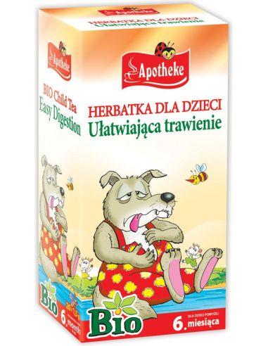 Herbata ułatwiająca trawienie dla dzieci ekspres 20T*APOTHEKE*BIO