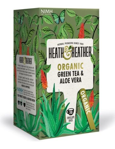 Herbata zielona / aromat aloesowy ekspres 20T*HEATH HEATHER*BIO