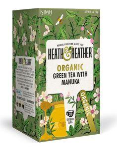 Herbata zielona / aromat manuka ekspres 20T*HEATH HEATHER*BIO