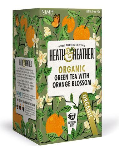 Herbata zielona / aromat pomarańczowy...