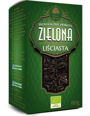 Herbata zielona cejlońska liściasta...