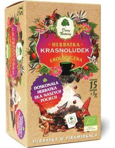 Herbatka **Krasnoludek** dla dzieci ekspres piramidki 15szt*DARY NATURY*BIO