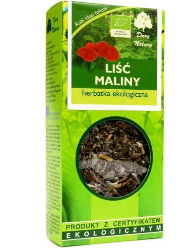 Herbatka **Malina** liść 25g*DARY NATURY*BIO