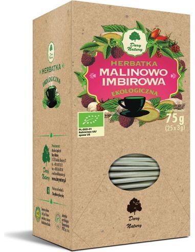 Herbatka **Malinowo - Imbirowa**...
