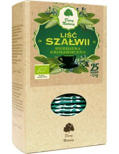 Herbatka **Szałwia** liść ekspres 25T*DARY NATURY*BIO