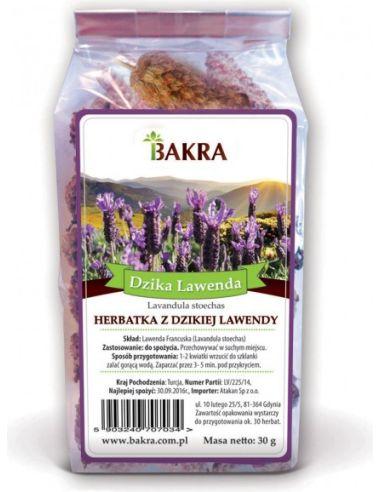 Herbatka z dzikiej lawendy 30g BAKRA...