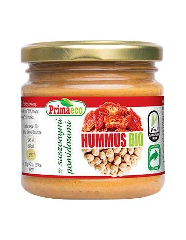 Hummus z suszonymi pomidorami 160g PRIMAVIKA BIO