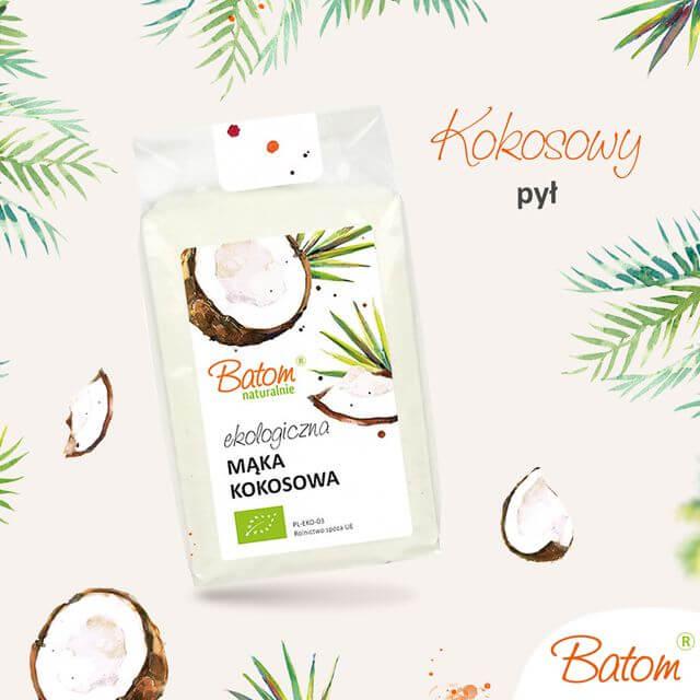 kokosowy pył